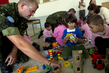 Lebanese Schoolchildren Receive LEGOs from UN Contingent 4.583474