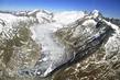 Aerial View of Switzerland's Fast-Decreasing Glaciers 2.5870452