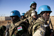 Gambian Peacekeepers on Escort Duty in North Darfur 7.996912