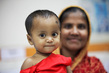 Mother and Child at Disease Research Centre in Dhaka 5.0692787