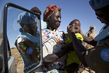 UNAMID Nurse Treats Child in North Darfur Village 8.026751
