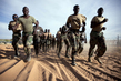 Senegalese Peacekeepers Train in North Darfur 7.996912