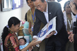 Secretary-General Visits Clinic in Central Kalimantan, Indonesia 5.913696
