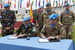 Change of Command at UN Mission in Lebanon 4.567217