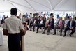 Security Council Mission to Haiti Visits Police Academy 4.302475