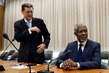 Joint Special Envoy on Syria, Kofi Annan, Holds Meetings at UN Geneva Office 1.5586036