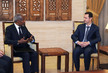 UN-Arab League Special Envoy Meets Syrian President in Damascus 10.646889