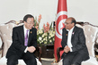 Secretary-General Meets President of Tunisia in Baghdad 1.6298363