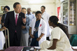 Secretary-General Visits Child and Maternal Health Hospital in India 14.473091