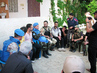 UN Observer Group Meets Opposition Members in El Karak, Syria 10.645508