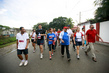 UNMIT Deputy and Timorese President Take Part in Annual Dili Marathon 4.627098