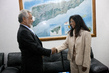 UNMIT Chief Meets Timorese Prime Minister for Handover Ceremony 4.5489297