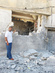UN Observers Survey Damage after Recent Shelling in Homs 13.077478