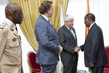 UN Peacekeeping Officials Meet President of Côte d'Ivoire 4.631104
