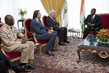 UN Peacekeeping Officials Meet President of Côte d'Ivoire 4.6859746