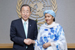 Secretary-General Swears in Special Adviser on Post-2015 Development Planning 1.3985214