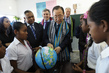 Secretary-General Visits Primary School in Timorese Capital Dili 16.357056