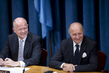 U.K. and French Foreign Ministers Address Joint Press Conference on Syria 5.869166