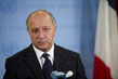 French Foreign Minister Briefs Media on Syria 5.8662696