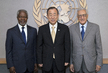 Secretary-General Meets Kofi Annan and Lakhdar Brahimi 1.5890325