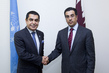 General Assembly President Meets with Chairman of National Human Rights Committee of Qatar 0.99744827