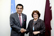 General Assembly President Meets Head of International Crisis Group 1.69382