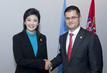 General Assembly President Meets Prime Minister of Thailand 1.4082077