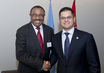 General Assembly President Meets Ethiopian Prime Minister 1.3588331