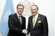 Deputy Secretary-General Meets Foreign Minister of Germany 7.243787