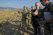 UN Peacekeeping Official Visits Blue Line on Israel-Lebanon Border 4.5868053