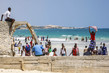 Mogadishu's Lido Beach Lively after Shabaab Withdrawal 9.72215