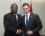 General Assembly President Meets Foreign Minister of Gabon 1.366126