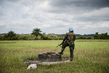 UN Peacekeeper on Duty in Liberia 4.6910233