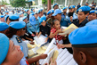 UN and Timor Police Prepare for Presidential Elections 4.081302