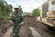 Indonesian Peacekeepers Respond to Flooding in Dungu, DRC 4.407124