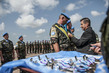 Ukrainian Blue Helmets in Liberia Awarded Medals 4.69016