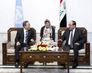 Secretary-General Visits Iraqi Prime Minister in Baghdad 1.6310112