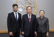 Secretary-General Meets Singer and Actor Ricky Martin 9.397248