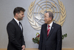 Secretary-General Meets Singer and Actor Ricky Martin 9.433733