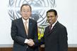 Secretary-General Meets Permanent Representative of Maldives 1.0