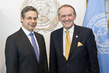 Deputy Secretary-General Meets Deputy Foreign Minister of Israel 7.243787