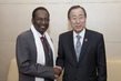 Secretary-General Meets Interim President of Mali 1.4407462