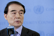 Permanent Representative of China Briefs Media on DPRK 1.315248