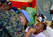 Peacekeepers Mark International Women's Day in IDP Camp 4.0272613