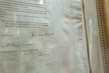 Original Signed Copy of Emancipation Proclamation at UNHQ for Slavery Exhibit 16.561806