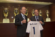 Secretary-General Meets President of Real Madrid Football Club 12.076796