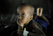 Young Malaria Patient Recovers at Health Clinic in Mogadishu 14.527422