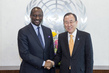 Secretary-General Meets Foreign Minister of Mali 1.4321059