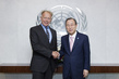 Secretary-General Meets German MP and Head of Green Party 2.8568463