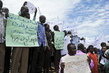 Members of Abyei Community Demonstrate in Memory of Slain Chief 4.908702